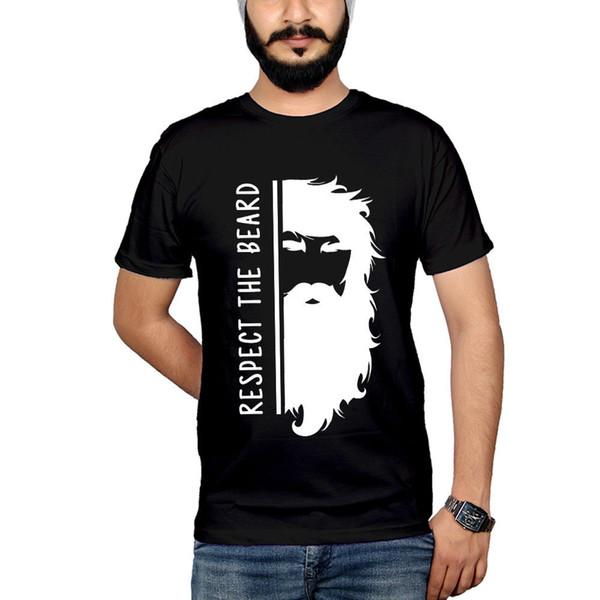 Respect The Beard Moustache Tumblr T-shirt Vest Tank Top Men Women Unisex 1754