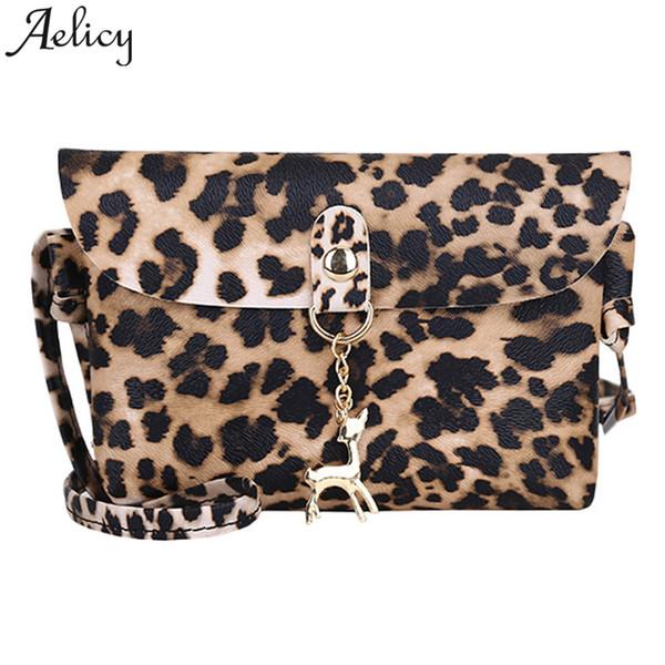 Aelicy Women Messenger Bag Leopard Imprimer Zipper luxe sacs à main femmes sacs designer sac à bandoulière sacs pour