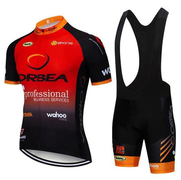 2019 TEAM ORBEA cycliste maillot 20D gel pad shorts cuissard Ropa Ciclismo séchage rapide cyclisme professionnel porter été vélo Maillot Suit 304519