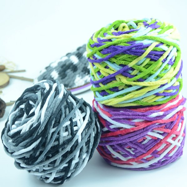 Small Ice Line, Single-strand Medium-thick Wool, Hand-woven Slipper Line, Scarf, Neck Line, Hook Shoes, Baby Cotton Line
