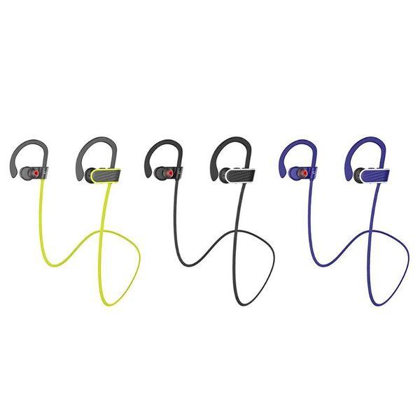 Hoco ES7 Sport Running Bluetooth Earphone Earhook Noise Cancelling IPX4 Waterproof Wireless Headphone Headset with Mic Promotion