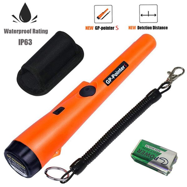 best selling Pin Pointer Metal Detector, Hand-held Metal Detector 360° Scanning Unearthing Treasure Finder Buzzer Vibration with High Sensitivity
