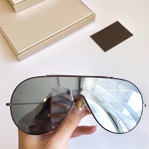 silver mirror lens