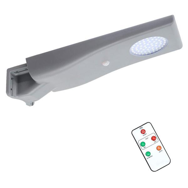 Lampione solare 15W LED Street Light Outdoor Wall Lamp Spotlight impermeabile Super Bright Solar Led Street Light per Road Yard Garden