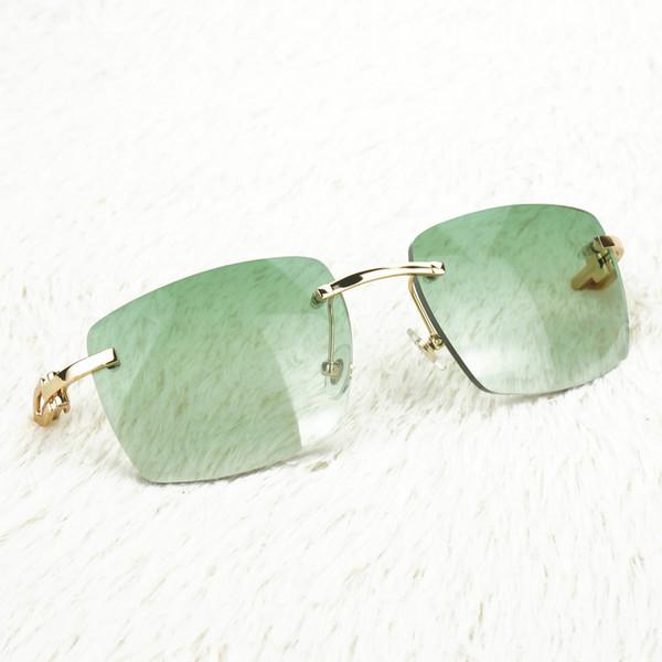 Yeşil Kare Lensler