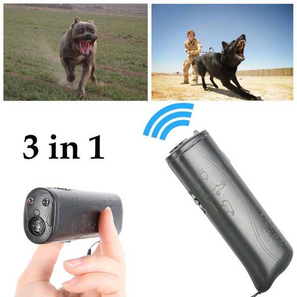 2019 Novo Ultrasonic LED Anti Latido Bark Device Dog Repeller Ultrasonic Anti Bark Stop Barking Ferramenta