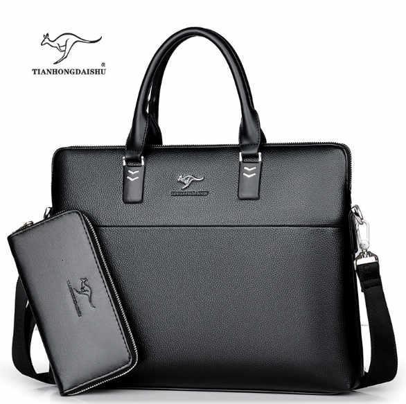 Nero con portafoglio