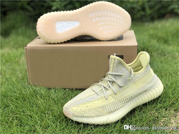 2019 Release Originals SPLY 350s V2 Antlia Reflective Synth Lundmark Kanye West Men Women Running Shoes Outdoor Sports Sneakers