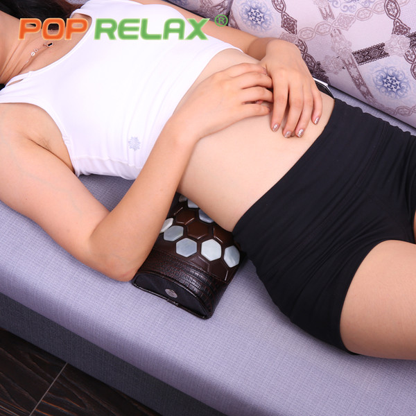 POP RELAX health care stone massage massage relaxant jade germanio tourmaline neck waist pain relief massager di trazione fisica