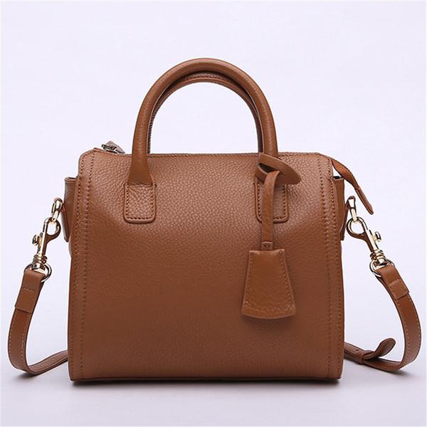 2019 Fashion Newest Fashion Design Women Totes Famous Brand Women Handbag Genuine Leather Lady Crossbody Bag Small Messenger Bag for Girls