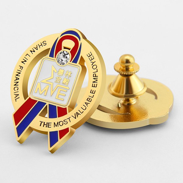 epoxy craft metal badge custom made free design metal enamel badge clothing fittings car ticker name clip pin custom badge