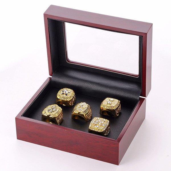 Golden 5 anelli box +