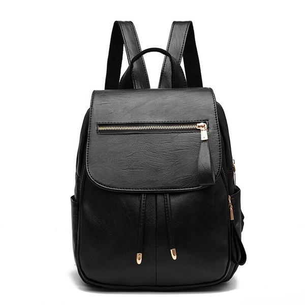 0bcb547cf Envío gratis bolsos de lujo diseñador bolso mochilas moda mujeres dama  negro rojo bolsa mochila encantos