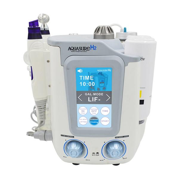 3 in 1 Corea del professionista H2 O2 Idrogeno Ossigeno viso Pulizia in profondità della macchina Aqua Peel Hydra getto d'acqua della pelle dispositivo ringiovanimento bellezza