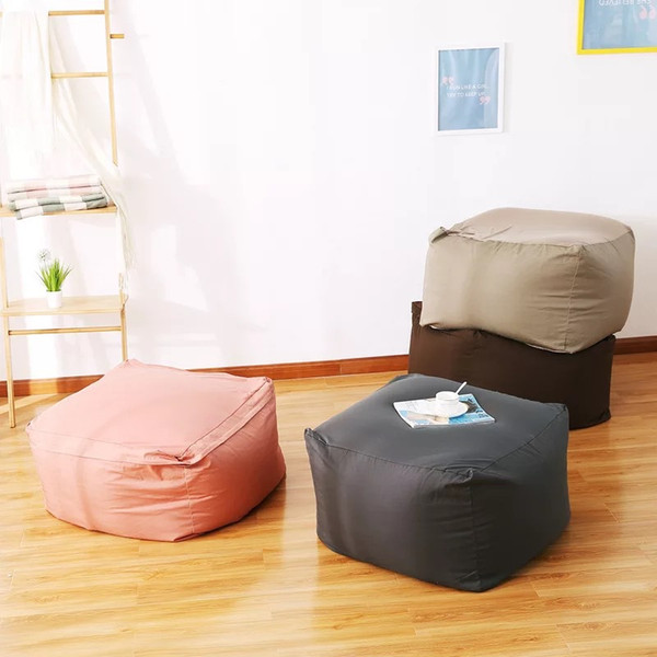 Excellent Lazy Beanbag Sofas Cover Chairs Without Filler Linen Cloth Lounger Seat Bean Bag Pouf Puff Couch Tatami Living Room Furniture Linen Rentals Sofa Dailytribune Chair Design For Home Dailytribuneorg