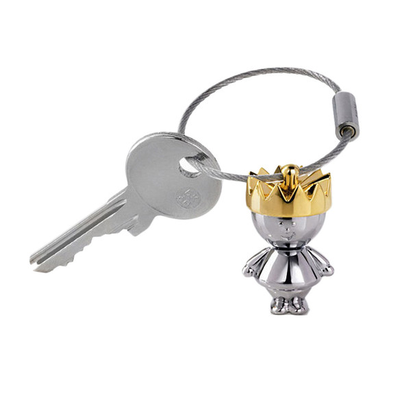 Goods Queen Couple Keychain Item Lovely Supplies Popular Luxury Chic Stylish Charm