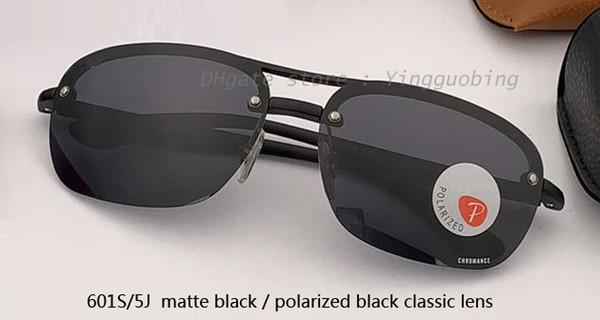601S / 5J أسود لامع / أسود مستقطب