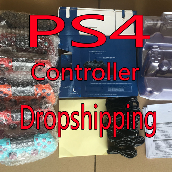 top popular New colors for PS4 Wireless Bluetooth Controller Vibration Joystick Gamepad Game Controller for Sony Play Station With box Dropshipping 2020