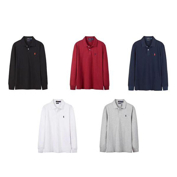 19FW Lujoso diseño de marca RL Polo con capucha Sudadera con cuello redondo de manga larga Sudadera con capucha Sudadera con capucha Sudadera al aire libre