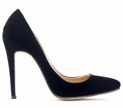 Forma de Moda de Luxo Designer de Calçados Femininos de Fundo Vermelho de Salto Alto 8 cm 10 cm 12 cm Nude Preto Vermelho Couro Dedos Apontados Bombas Vestido Sapatos