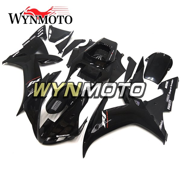 Full Cover For Yamaha YZF1000 R1 2002 2003 02 03 ABS Plastics Injection Motorbike Panels Black White Decals Body Frames YZF R1 02 03 Fairing