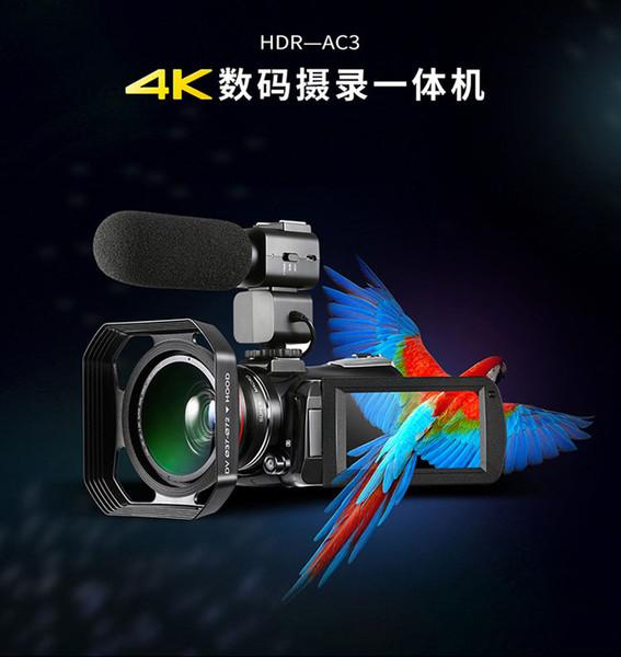 4 K WIFI Kameralar 48MP Ev Kullanımı Açık Kullanım Tarzı Dijital Kamera HD ekran OEM ve ODM hizmeti