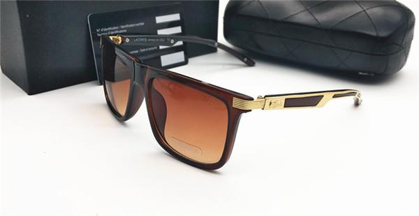 men women fashion designer sunglasses black tortoise poly lens green blue pink flash mirror in case 51mm