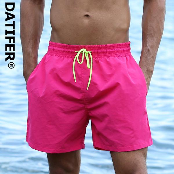 Datifer Mens Board Shorts Surf Swimwear Beach Short Man Swim Shorts Summer Male Athletic Running Gym Shorts Man Size 3xl C19041001