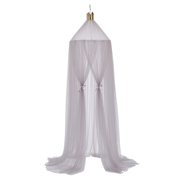 OUTAD Summer Children Kids Bedding Mosquito Net Romantic Baby Girls Round Bed Mosquito Net Bed Cover Canopy For Kids Nursery