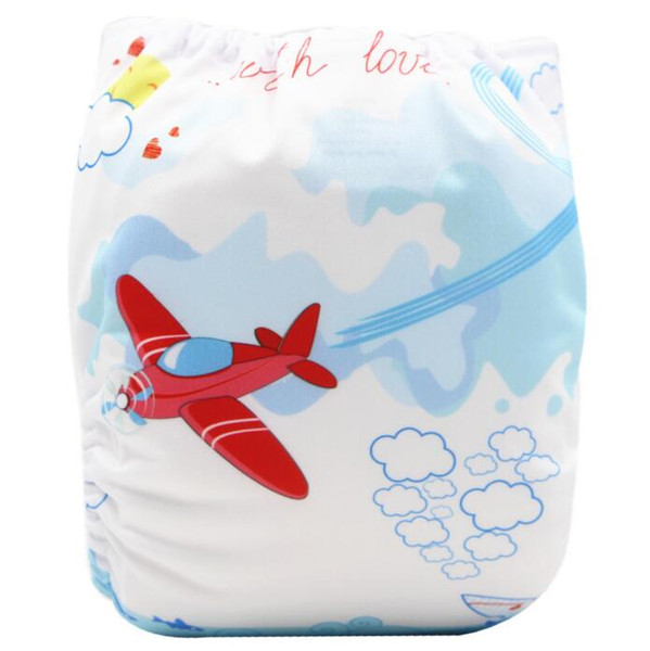 Prints Kids Training baby Swim pant One size Diapers Baby Nappies Washable reuseable Modern Cloth Diapers trunks leakproof MOQ 6Pcs S19JS214