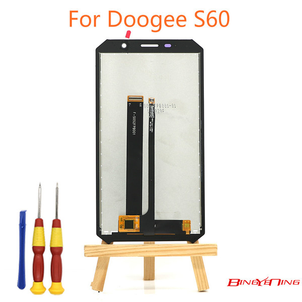 BingYeNing New Original For Doogee S60/S60 lite Touch Screen+LCD Display Assembly Replacement