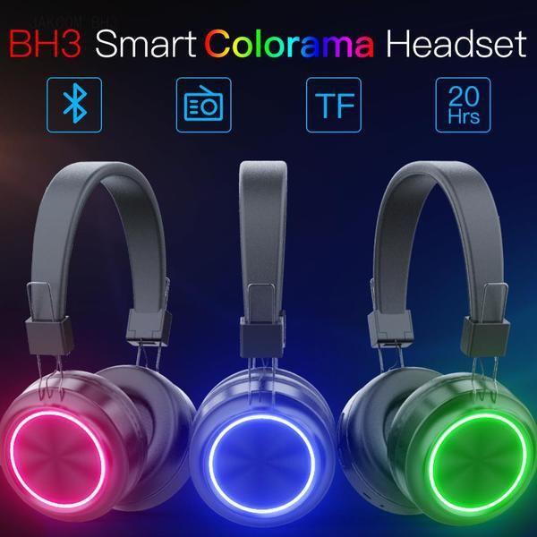 JAKCOM BH3 inteligente Colorama Auriculares Nuevo producto en otras Electronics como bocado auricular MI9 distancia