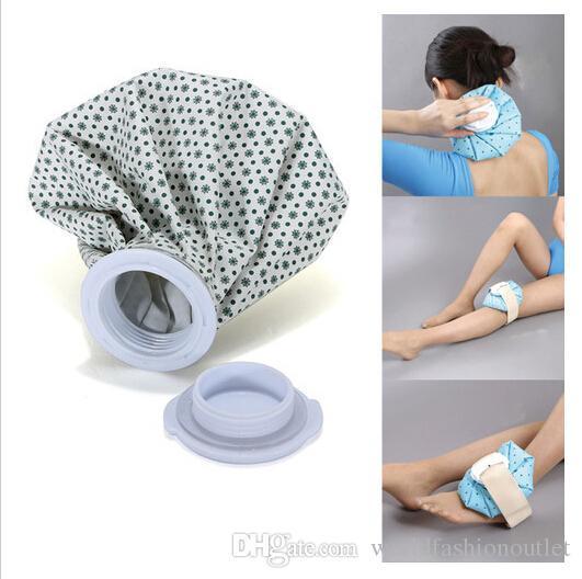 Pro Healthcare Ice Bag Sport Injury Cap Muscle Aches Relief Pain Terapia fredda Pack Riutilizzabile Acqua ghiacciata Acqua calda Tessuto in gomma Raffreddare