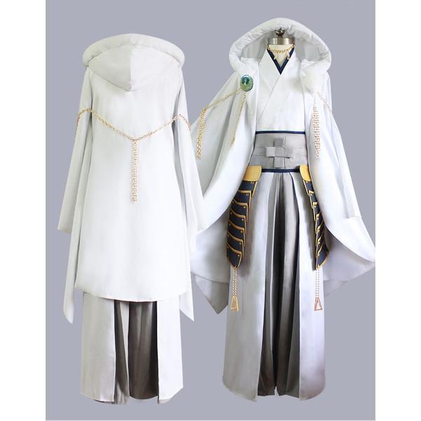 Touken Ranbu Online Cosplay Tsurumaru Kuninaga Cosplay Costume Full Set Uniform Halloween Carnival Women Men Costume