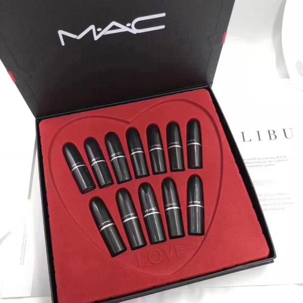 Newhotco metic matte lip tick makeup waterproof durable makeup brand profe ional 12 color lip tick et dhl free