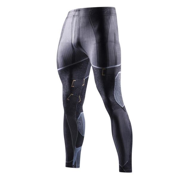 The latest autumn sports trousers marvel marvel men's bodysuit 3D printed compression trendy men's trousers