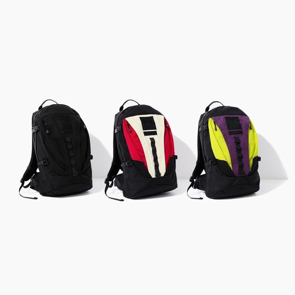 18FW Fashion Bag Expedition Backpack Joint Shoulder Bag Backpack Man And Women High Quality Three Colors Bag HFBYBB106