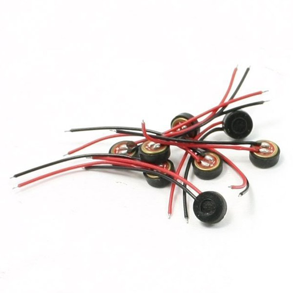 TTKK Brand New 10pcs Electret Condenser MIC 4mm x 2mm per PC Phone MP3 MP4