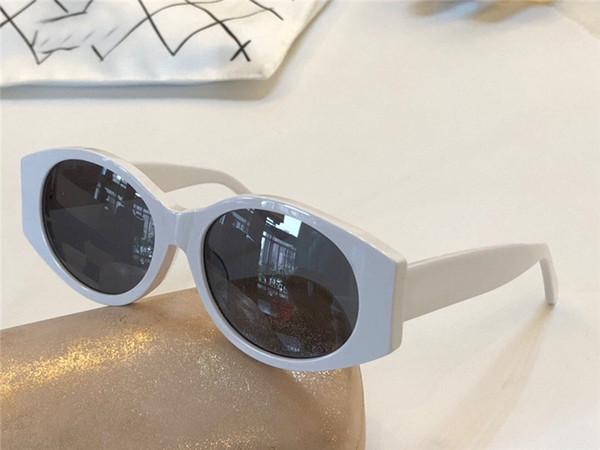 Gafas de sol de diseñador al por mayor-moda 4108 marco de ojo de gato con material de placa popular estilo simple gafas de protección uv400 de calidad superior