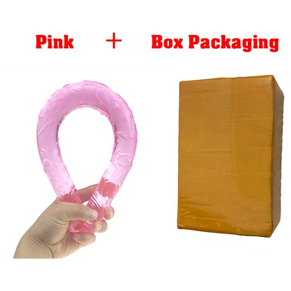 pink box package