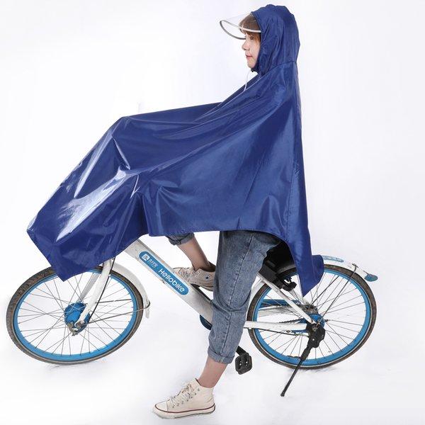 Bisiklet-tek Şapka Brim-mavi