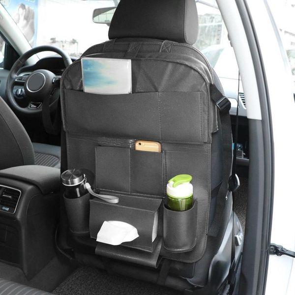 Multi Pocket Holder Bag Car Back Seat Organizer Car Seat Tray