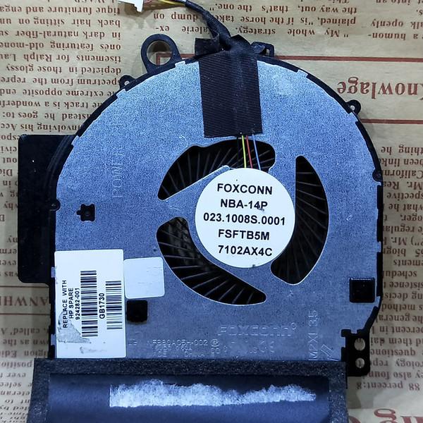 HP TPN-W125 Dizüstü X360 için 14-BA Soğutma Fanı