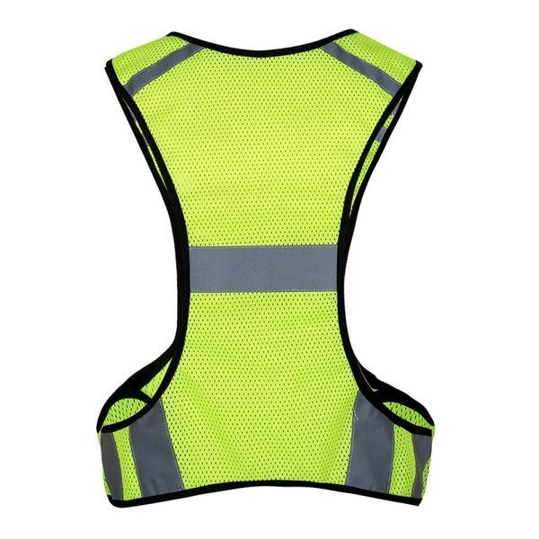 New 2018 New Unisex Safety Vest Pouch Reflective High Visibility Jacket Outdoor Vest Uniform Adjustable Waist Uniform Sportswear #746559