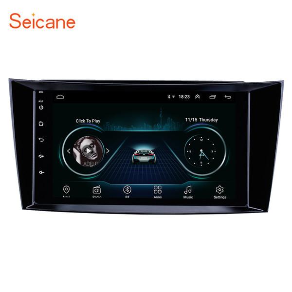 Stereo da 8 pollici per Android 8.1 HD Touchscreen Navigazione GPS per auto per classe 2001-2010 Mercedes Benz Classe E W211 / CLS W219 / CLK W209 / Classe G W463