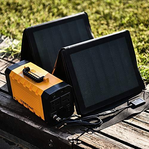 Hanergy Portable Foldable Solar Charger 100W, Sun Powered Charger, Technology, Flexible, Ultra Thin Light, Waterproof Camping Hiking,