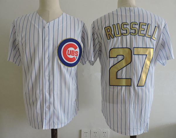 27 Addison Russell Bianco Gold Base fresca