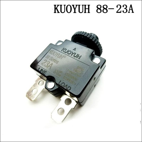 best selling Taiwan KUOYUH Overcurrent Protector Overload Switch 88 Series 23A
