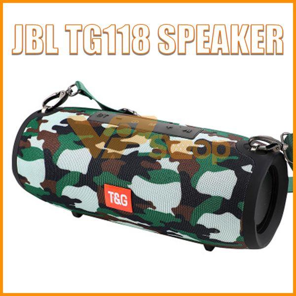 2019 JBL TG118 Wireless Bluetooth Speaker Portable Big Extream Stereo Speaker Super Bass Soundbox Outdoor Soundbar Boom Box