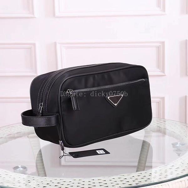 Novo designer Atacado saco de Embreagem para homens saco de cosmética mulheres grande organizador de viagem saco de lavagem de armazenamento para homens compõem homem bolsa caixa de Cosméticos